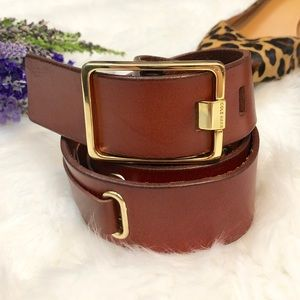COLE Haan Classic Brown Leather Belt